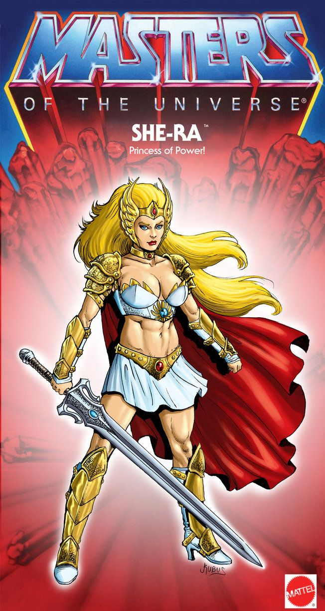 She Ra - Princess of Power 2012 by ~RubusTheBarbarian