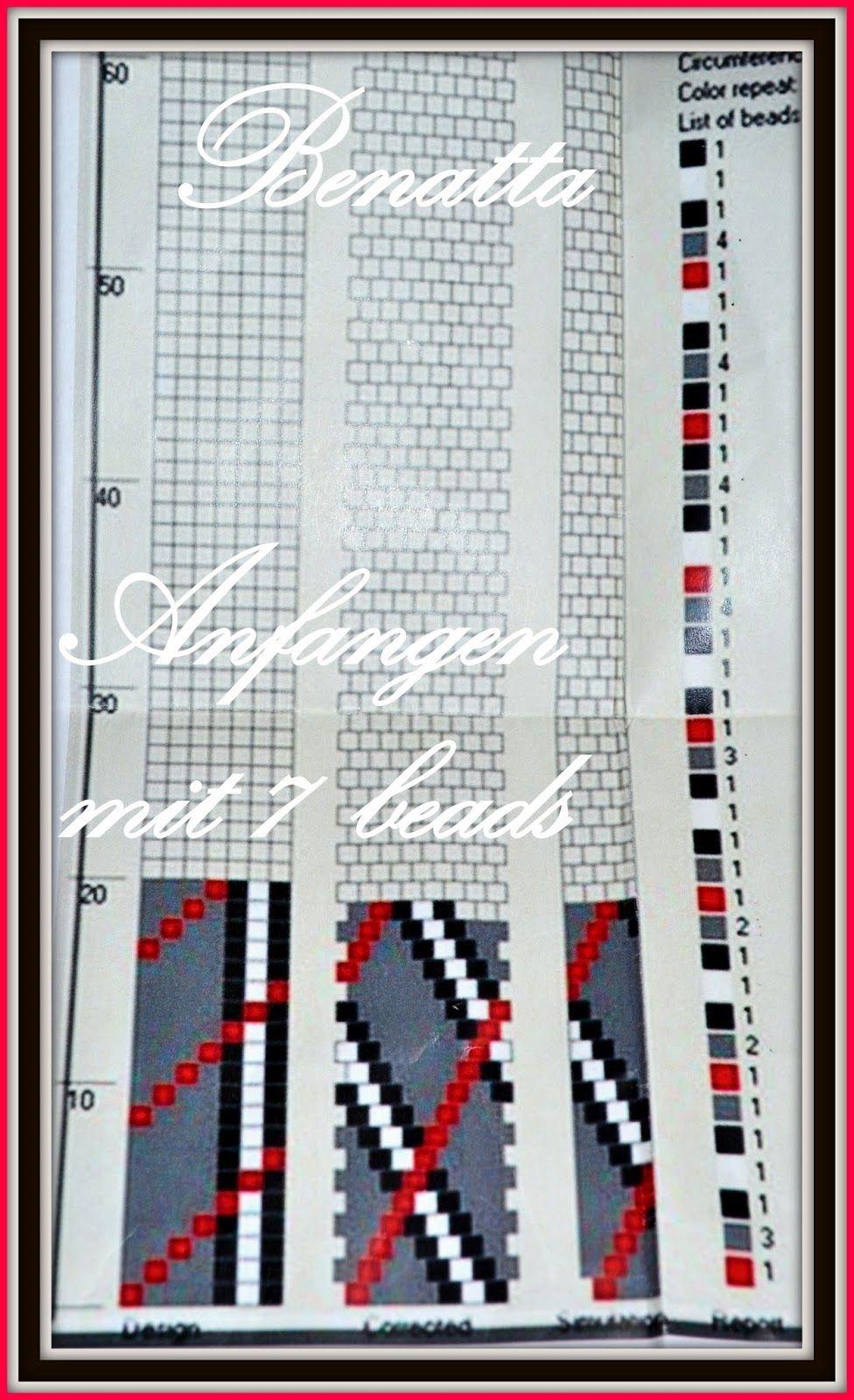 La Perla Benatta: Set im Burberry Look + Shema | Bead crochet ...
