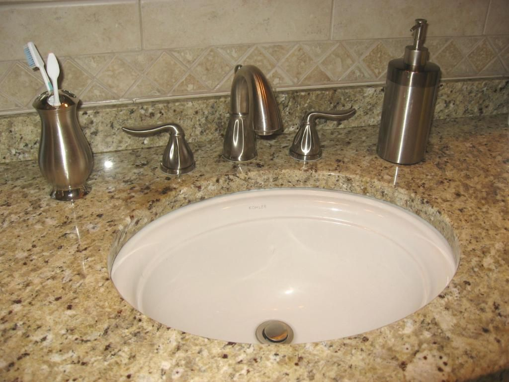 Undermount Bathroom Sink With Laminate kohler devonshire sink | kohler k-2350-0 devonshire 16 7/8