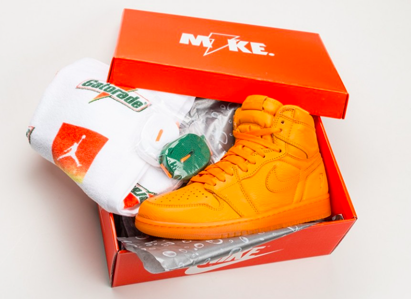 Air Jordan 1 Gatorade Orange Peel Arriving In A Few Days  5d838dac8