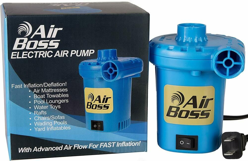 Electric Air Pump Inflator MultiUse 120V Fast Inflation