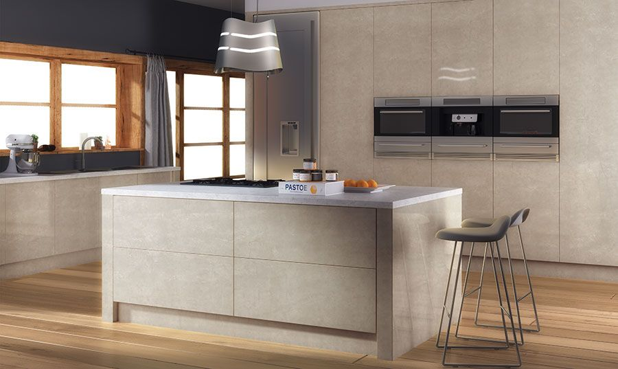 62d846d5f7 Zurfiz UltraGloss in Limestone Kitchen Doors Uk, Kitchen Cabinets Units,  High Gloss Kitchen,