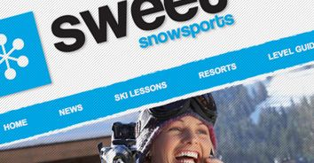 Sweet Snowsports are one of our long-standing clients who we have been working for over the past three years.  We have assisted Sweet Snowsports with a host of direct marketing including e-shot campaigns, as well as web design and graphic design projects.    We designed and built a content managed website which enabled Sweet Snowsports to update their content regularly. The website also links to their Twitter and Facebook pages.