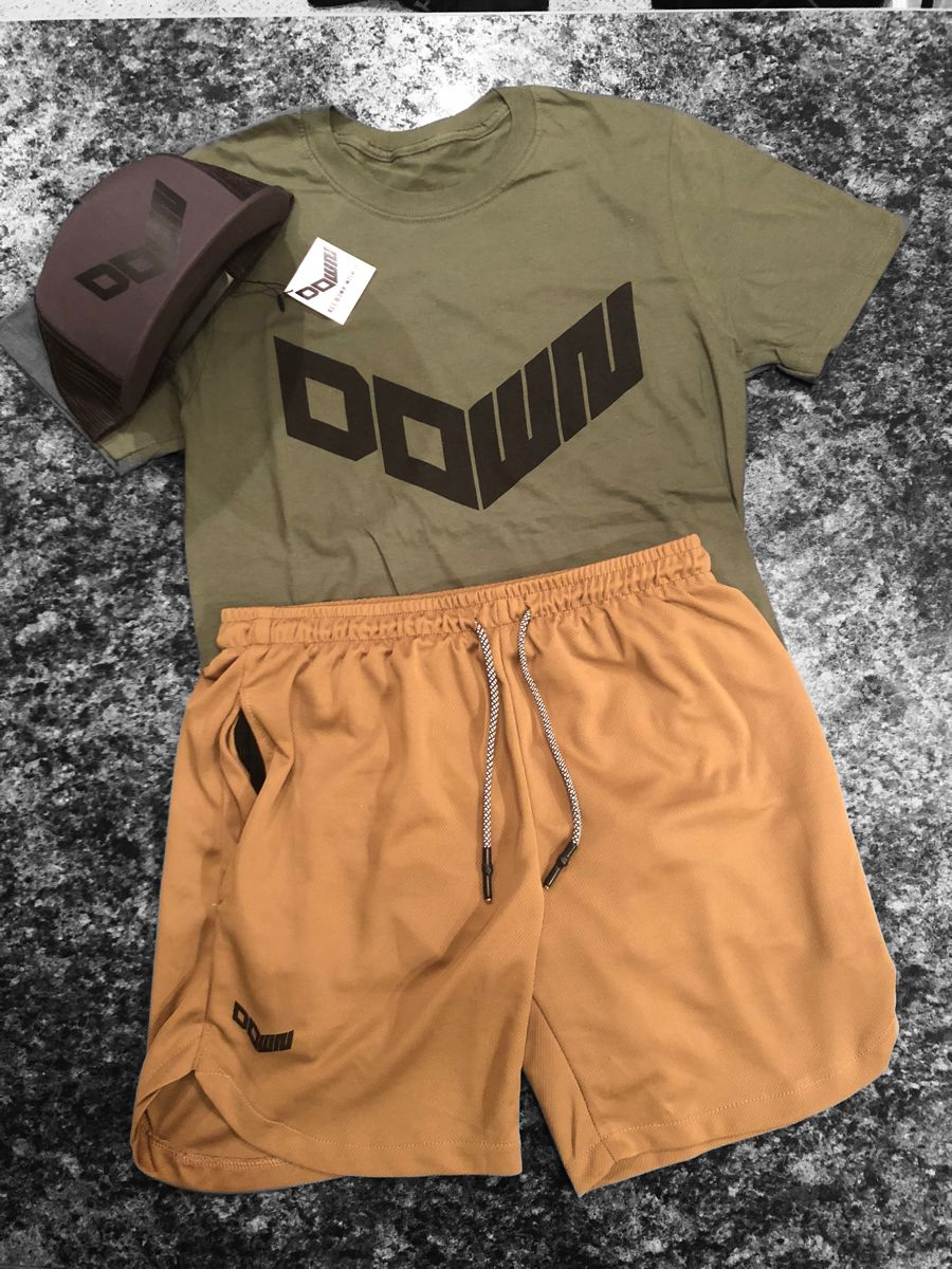 Spandex Lined Performance Shorts Softstyle TShirt