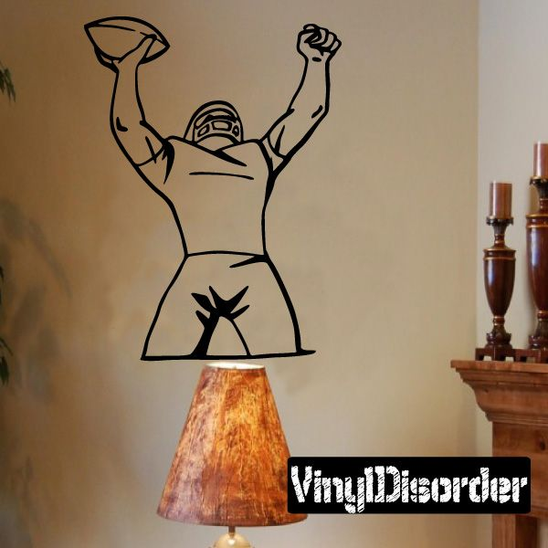 Football Wall Decal - Vinyl Decal - Car Decal - CDS021