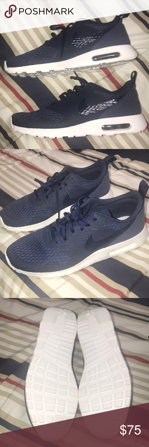 low priced 1d32e 20d03 Brand new Men s Nike Air Max Tavas Never Worn Blue nike men s size 11 Nike  Air Max Tavas , Brand new , never worn perfect Nike Shoes Athletic Shoes