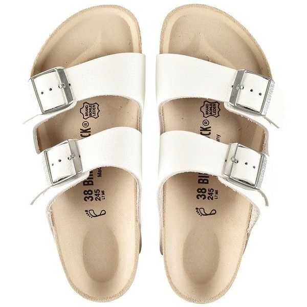 ef2e5be97344 birkenstock arizona sandals (€115) ❤ liked on Polyvore featuring shoes