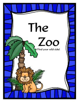 Zoo Zookeeper Dramatic Play Dramatic Play Teaching Themes