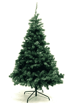 xmas finest 6 feet super premium artificial christmas pine tree with solid metal legs