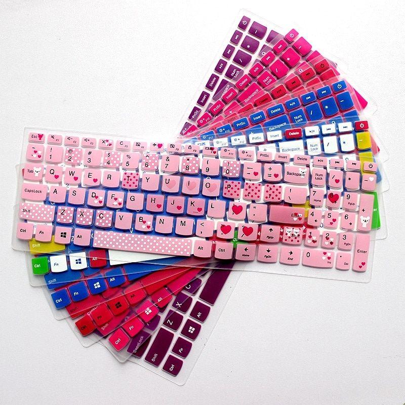 واقي لوحة مفاتيح الكمبيوتر المحمول لينوفو Ideapad 310 15 510 15 110 15 17 كمبيوتر محمول جديد 15 بوصة غط Keyboard Protector Keyboard Cover Laptop Keyboard