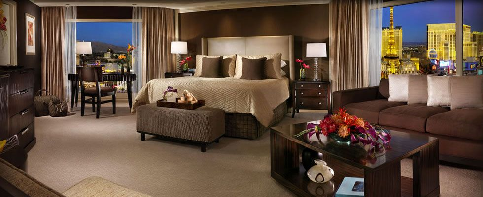 Las vegas resort rooms bellagio hotel las vegas reviews for Salone suite