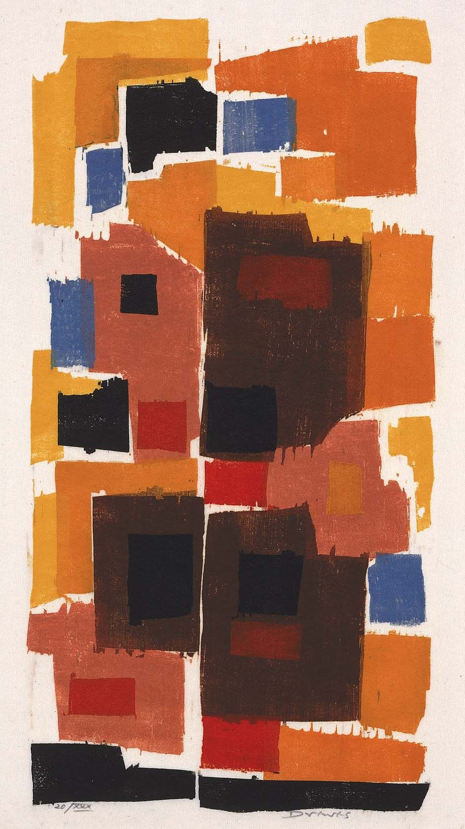 Autumn Gold by Werner Drewes / American Art
