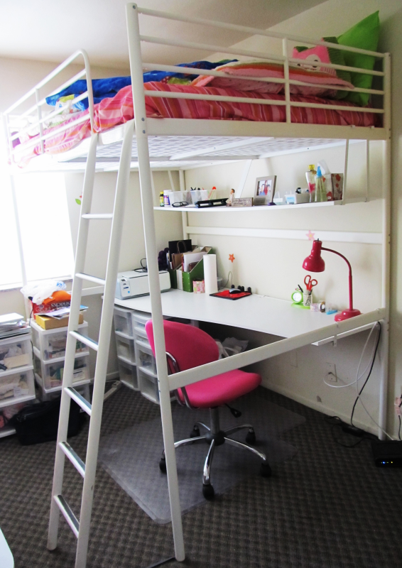 10 Astonishing Ikea Loft Bed Desk Image Ideas