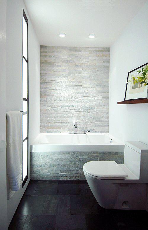 Textured Bathroom Wall
