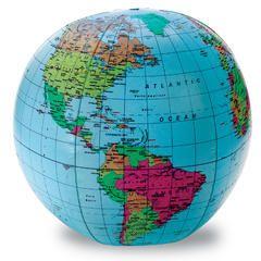 Inflatable World Globe - Kmart