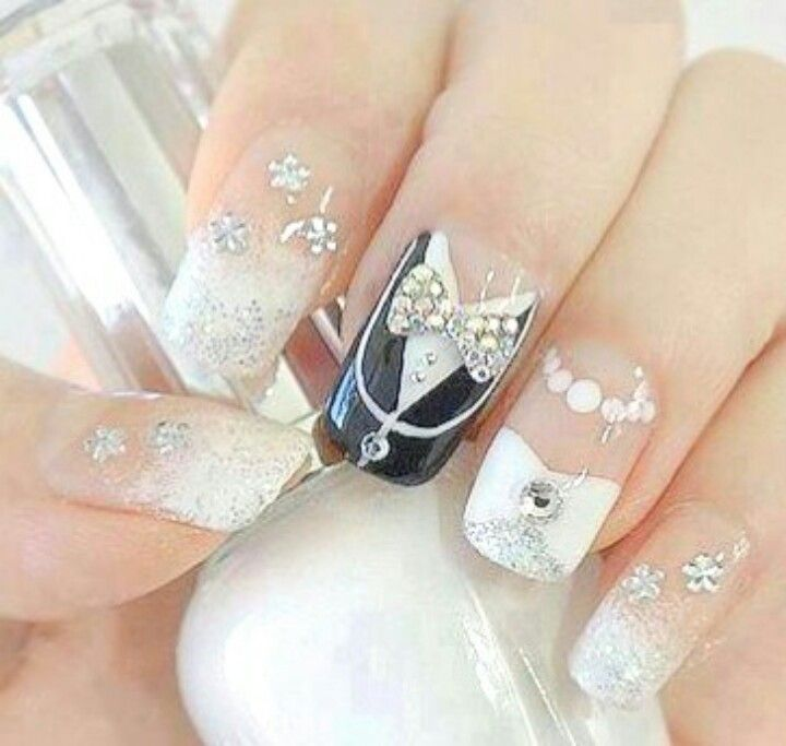 Bridal nail idea | Wedding Ideas | Pinterest | Bridal nails ...