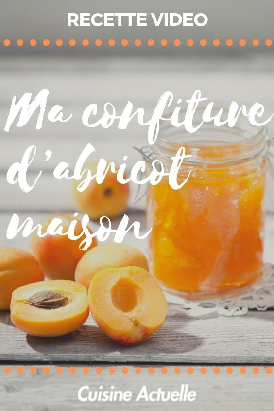 Comment faire une confiture d abricots maison delices confiture abricot confiture et abricot - Confiture d abricots maison ...