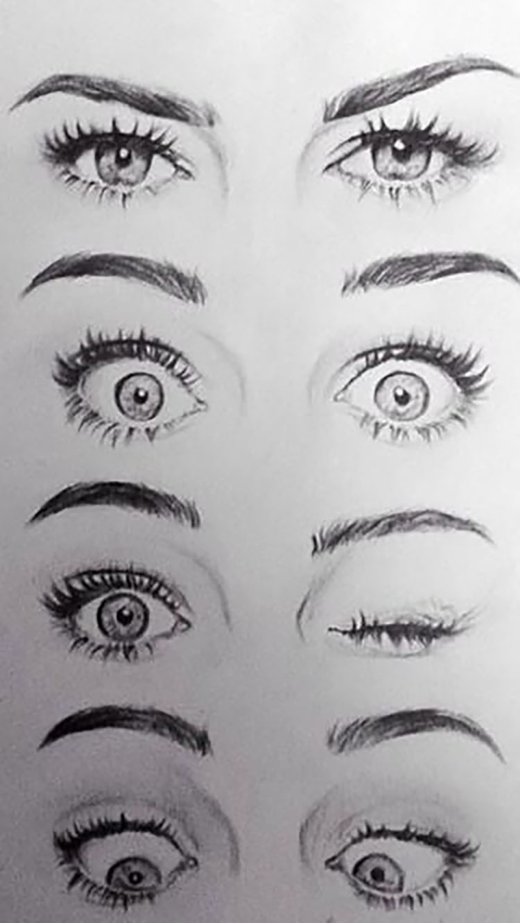 22 Eye Drawing Tutorials And References Beautiful Dawn Designs Eye Drawing Eye Drawing Tutorials Sketches