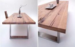 Massief Houten Tafel : Massief houten tafel eethoek eethoek eettafels en