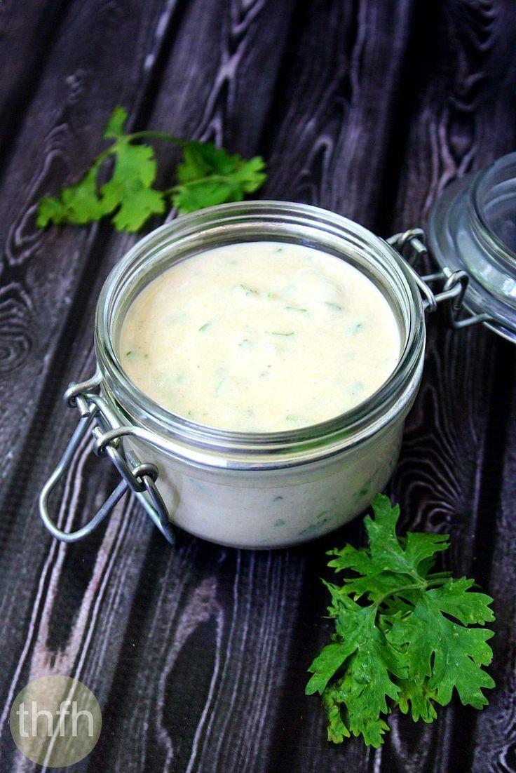 Raw vegan creamy cilantro and lime tahini dressing recipe creamy vegan cilantro and lime tahini dressinga healthy vitamix recipe using only forumfinder Choice Image