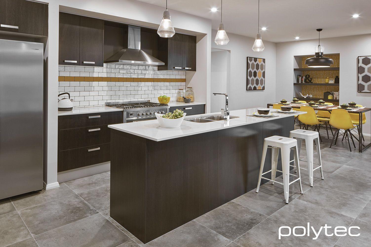 Doors And Bar Panel In Melamine Black Wenge Matt Black Kitchen Decor Kitchen Design Melamine Cabinets