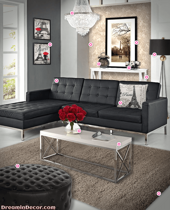 Paris Themed Living Room Ideas For Gray Rooms How To Create A With An Authentic Parisian Charm