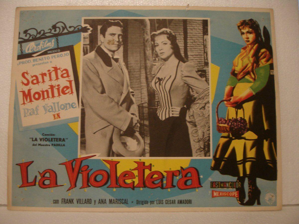 La violetera sarita montiel favorite movies book cover