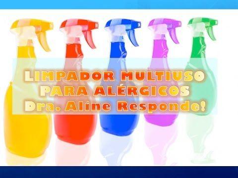 Limpador Multiuso para Alérgicos - Dra. Aline Responde!