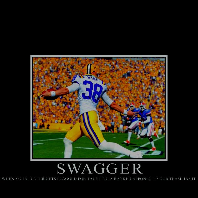 LSU v/s Florida 2011. GEAUX TIGERS!!