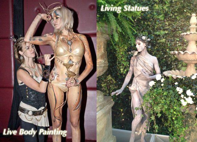 fedcbe0cd Live Body painting & Living Statues by Audette Sophia http://www.