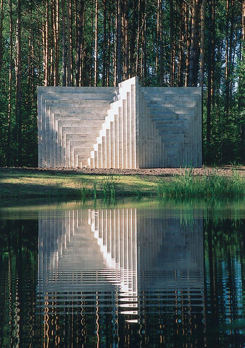 Sol LeWitt- Double Negative Pyramid (1999)