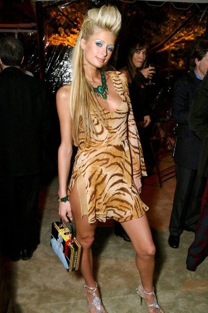 Paris Hilton - Worst Oscars dresses of all time - Marie Claire