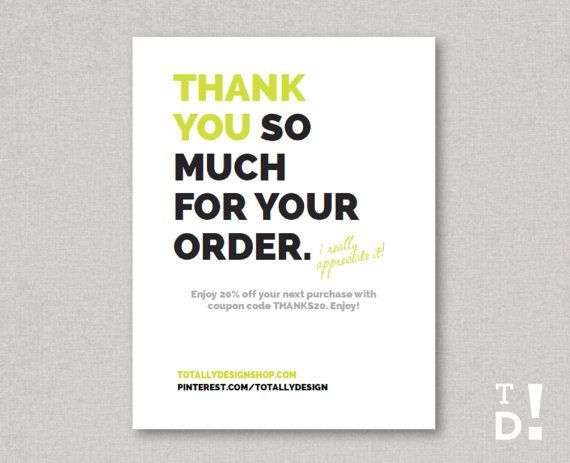 Etsy Thank You Cards Seller Google Search Thank You Card Design Business Thank You Cards Business Thank You