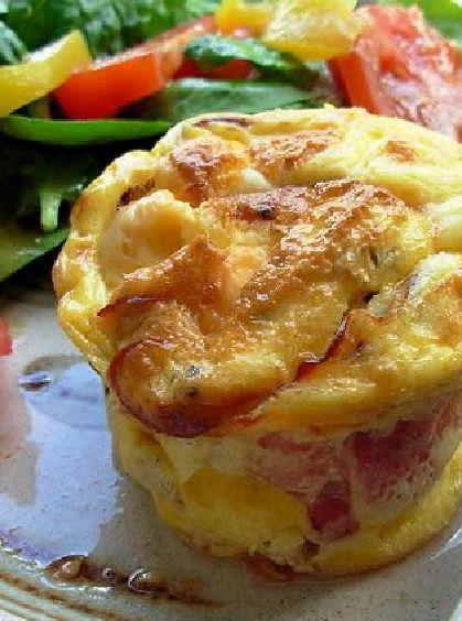 Low FODMAP and Gluten Free Recipe - Gruyère & bacon soufflé - http://www.ibssano.com/low_fodmap_recipe_gruyere_bacon_souffle.html