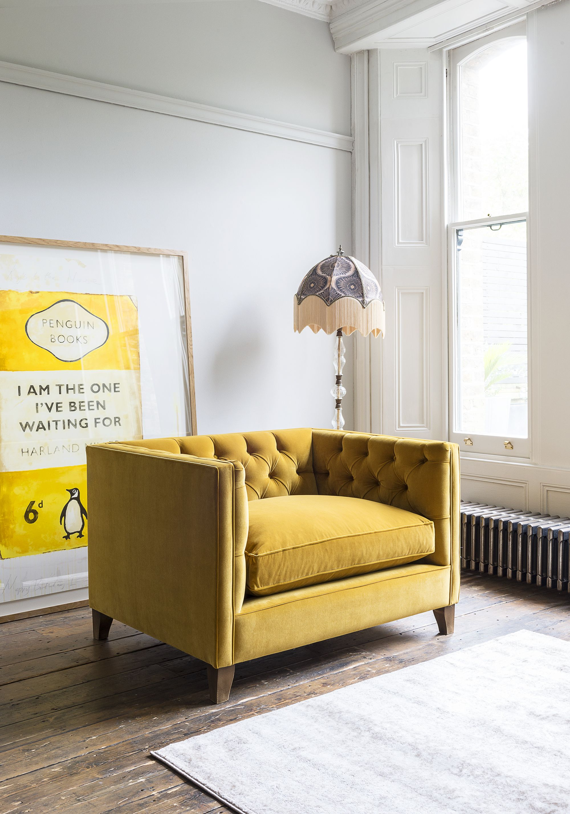 Yellow Sofas 9 Of The Bestwhether Your Taste Is For Mustard Or Saffron Shades Burnt Ambers Or Subtle Apricots Find A Stand Yellow Sofa Love Seat Sofa Design
