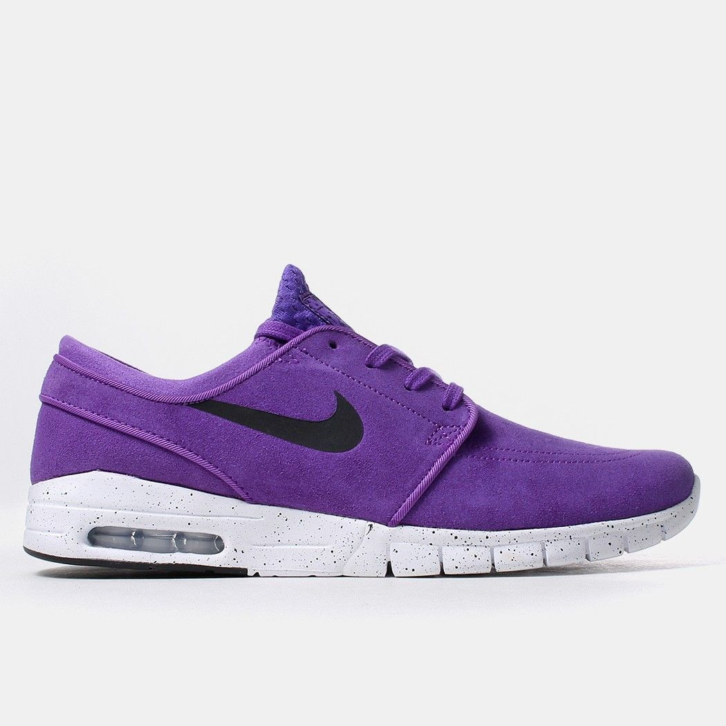 best loved afd38 a5eb4 Nike SB Stefan Janoski Max L Shoes - Hyper Grape ... A bold colourway.