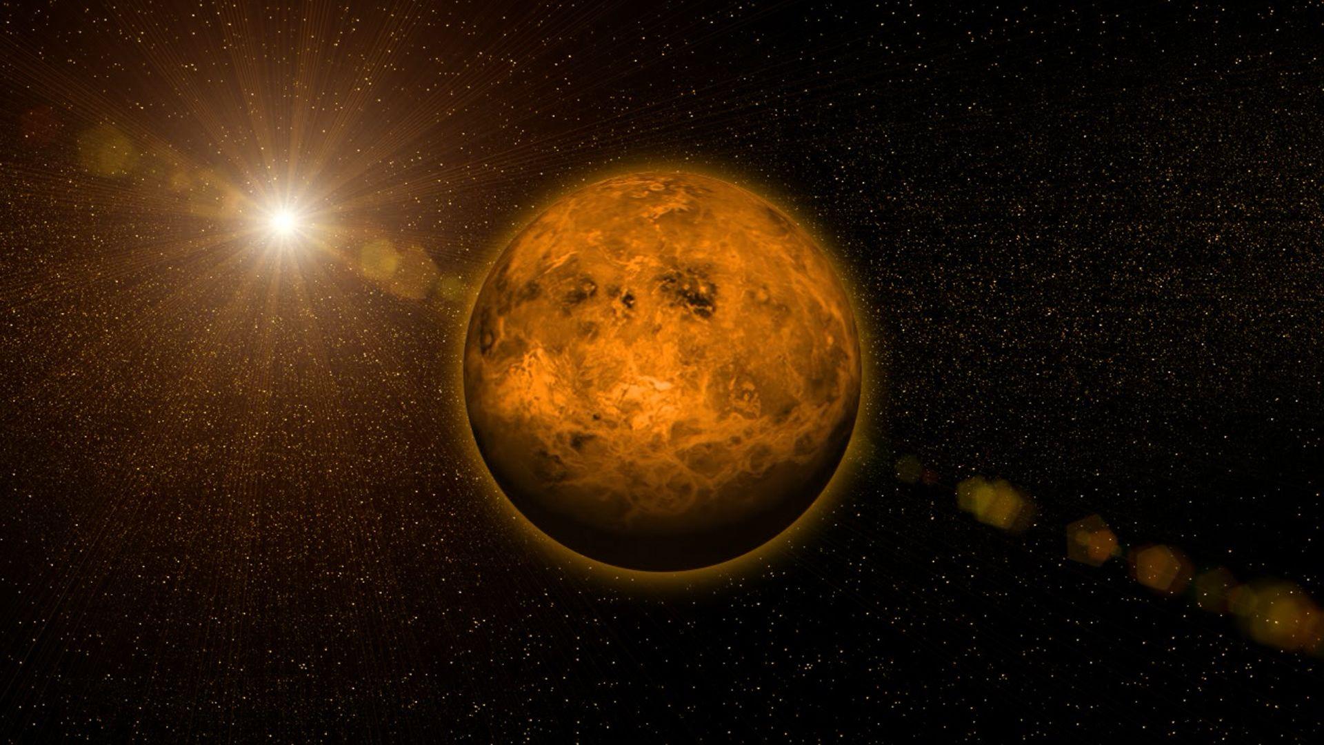 Planet Venus Wallpaper