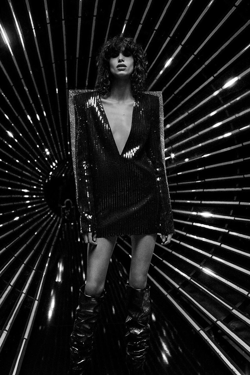 6a65407a8f Saint Laurent turns up the rock and roll appeal for its fall-winter 2017  campaign. Photographed by Collier Schorr