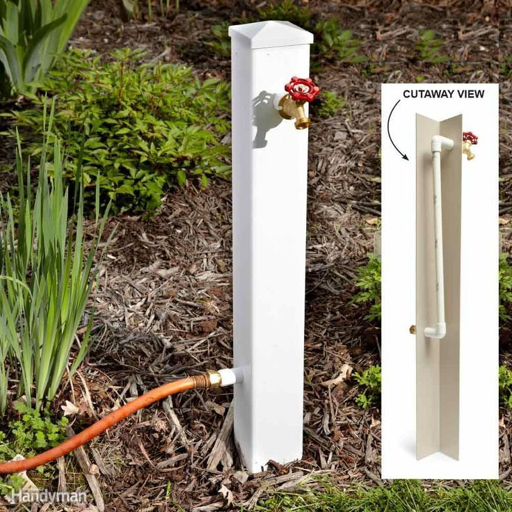 Hose Connection Extender If You Have A Hose Bib That Has Become Hard To Reach Due To Encroaching Shrubs Or Other Obstructions Heres A Way To Bring The Water In