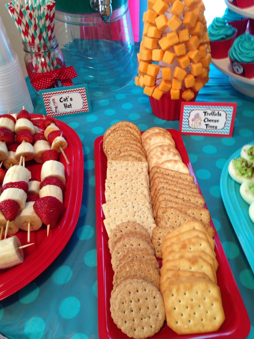 Dr Seuss Baby Shower Food Ideas