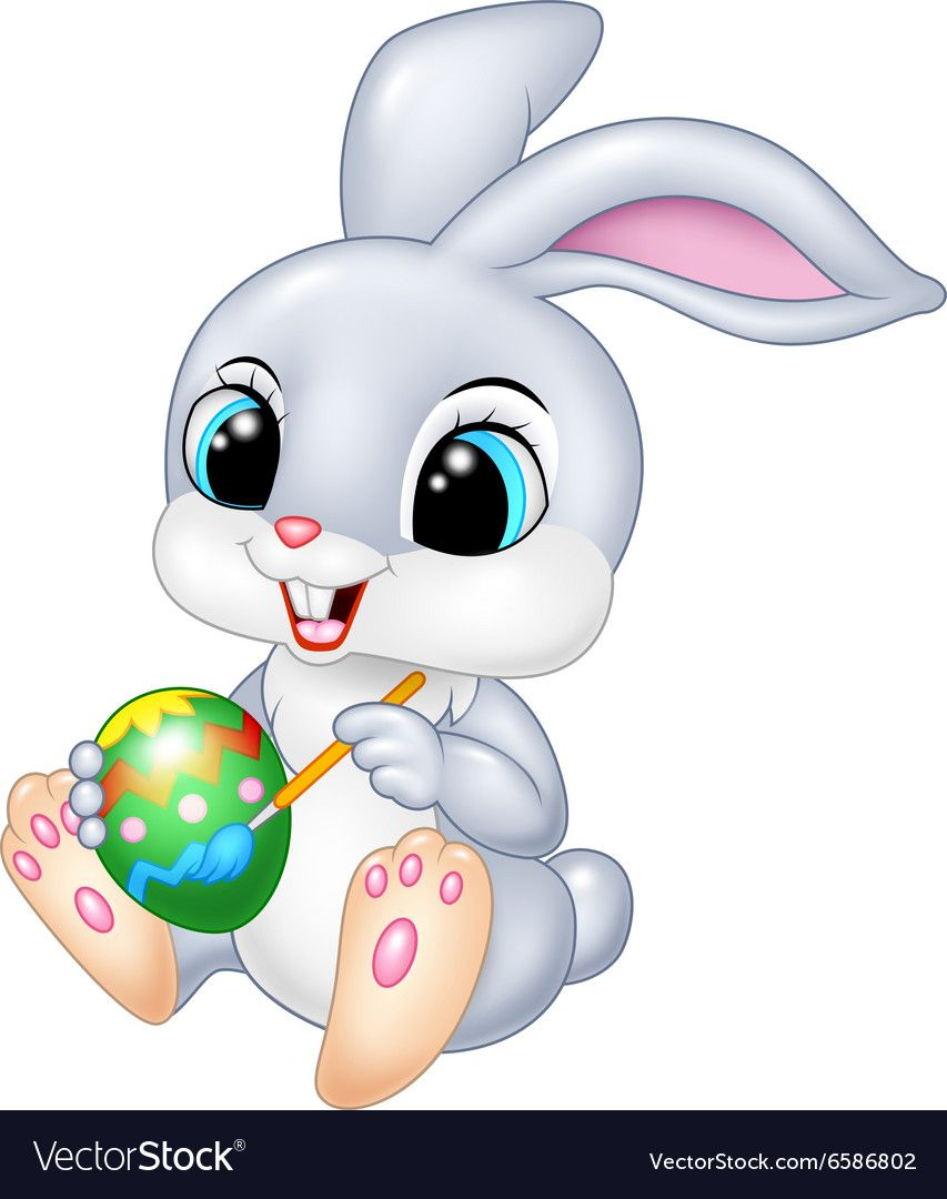 How To Draw An Easter Bunny Easy Drawings Step By Step Easter Drawings Bunny Drawing Easter Bunny Cartoon