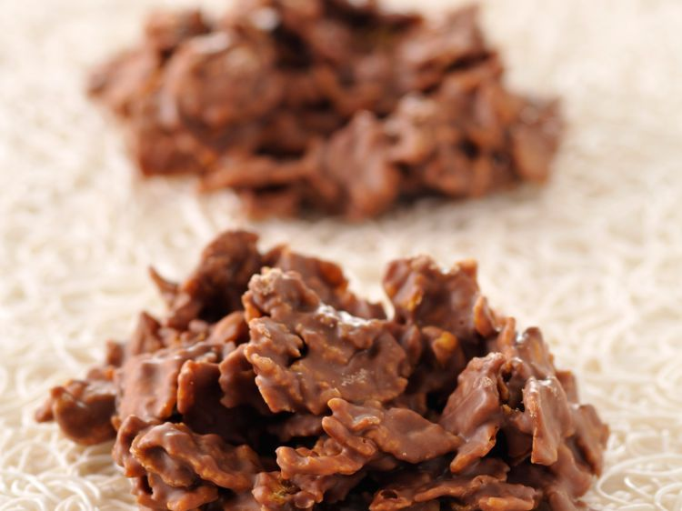 Roses des sables au chocolat - Recettes #dessertfacileetrapide