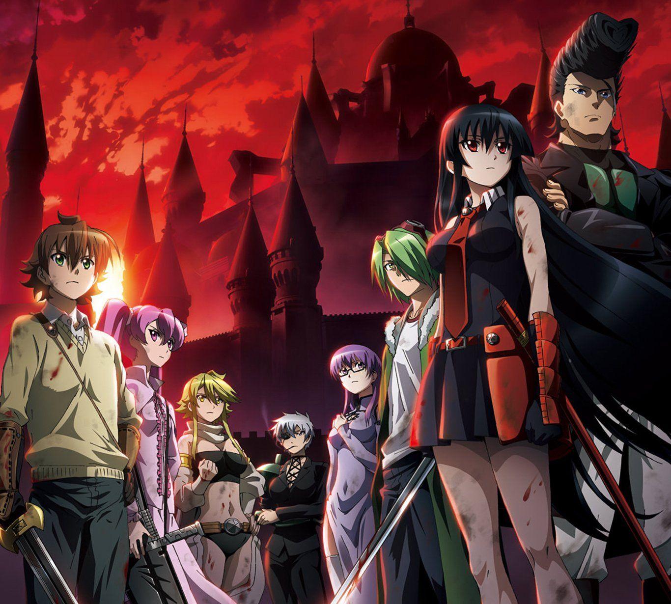 Akame Ga Kill All Team Akame Ga Arte Anime Animes Wallpapers