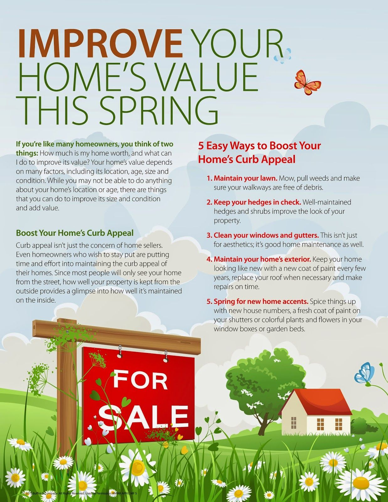 Nina Bhanot S Real Estate Blog Improve Your Home S Value This