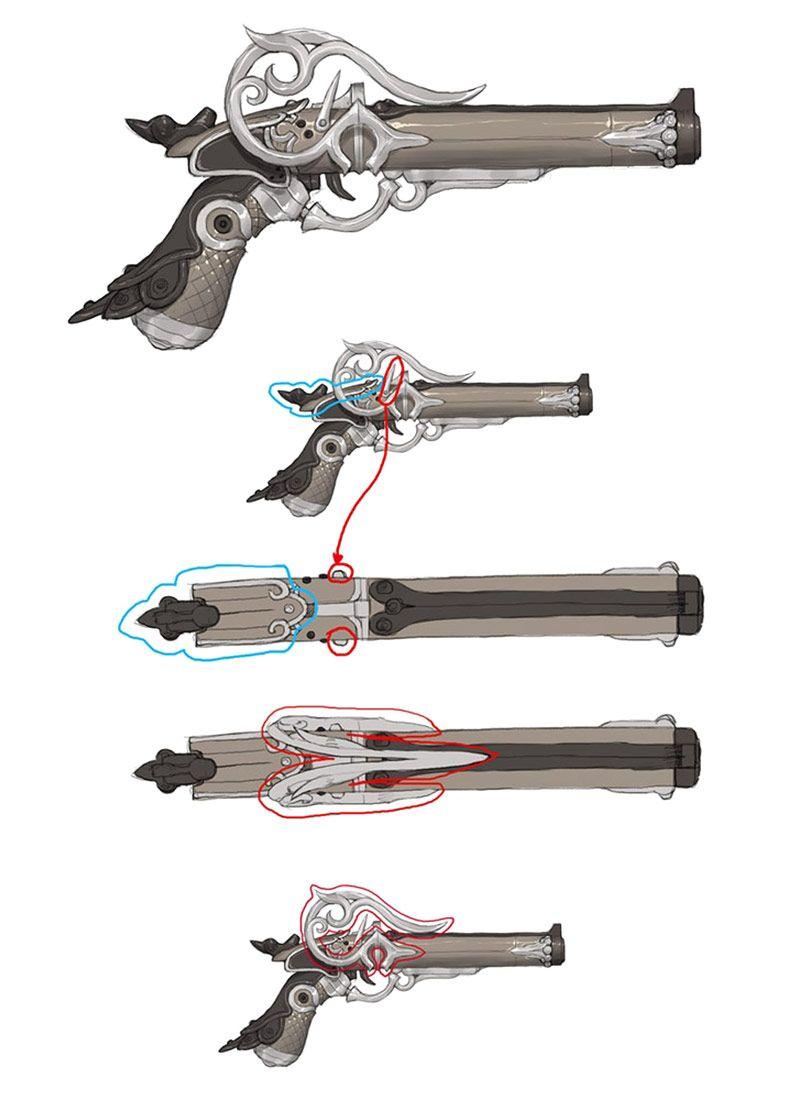 Fantasy Gun Art
