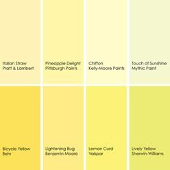 Yellow Paint Colours For Walls