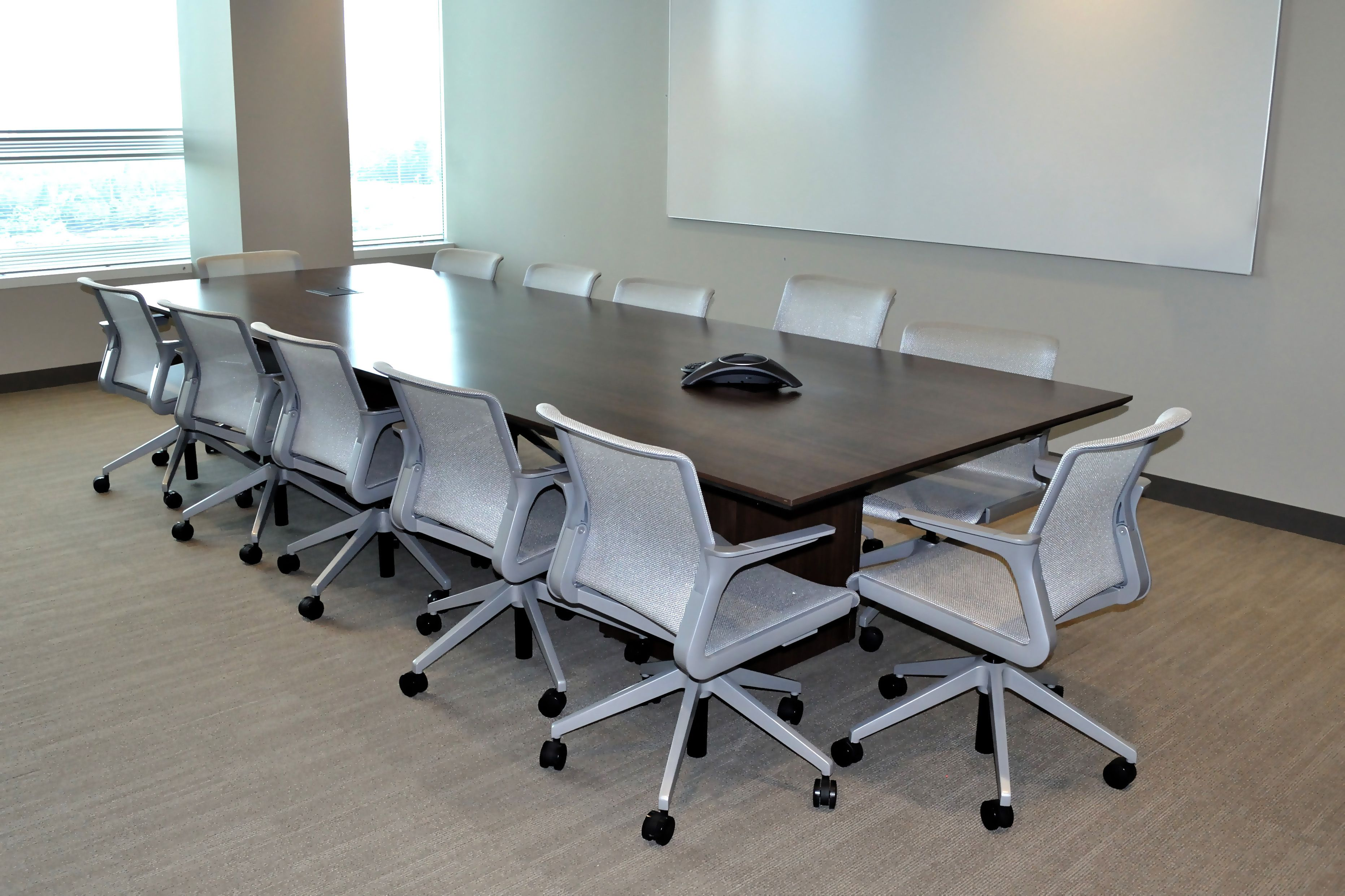 Gas South Hon Preside Table Allsteel Clarity Chairs