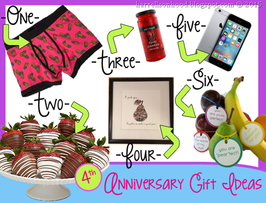 Four Year Wedding Gift: 4th Fourth Anniversary Gift Ideas, Traditional Gifts For