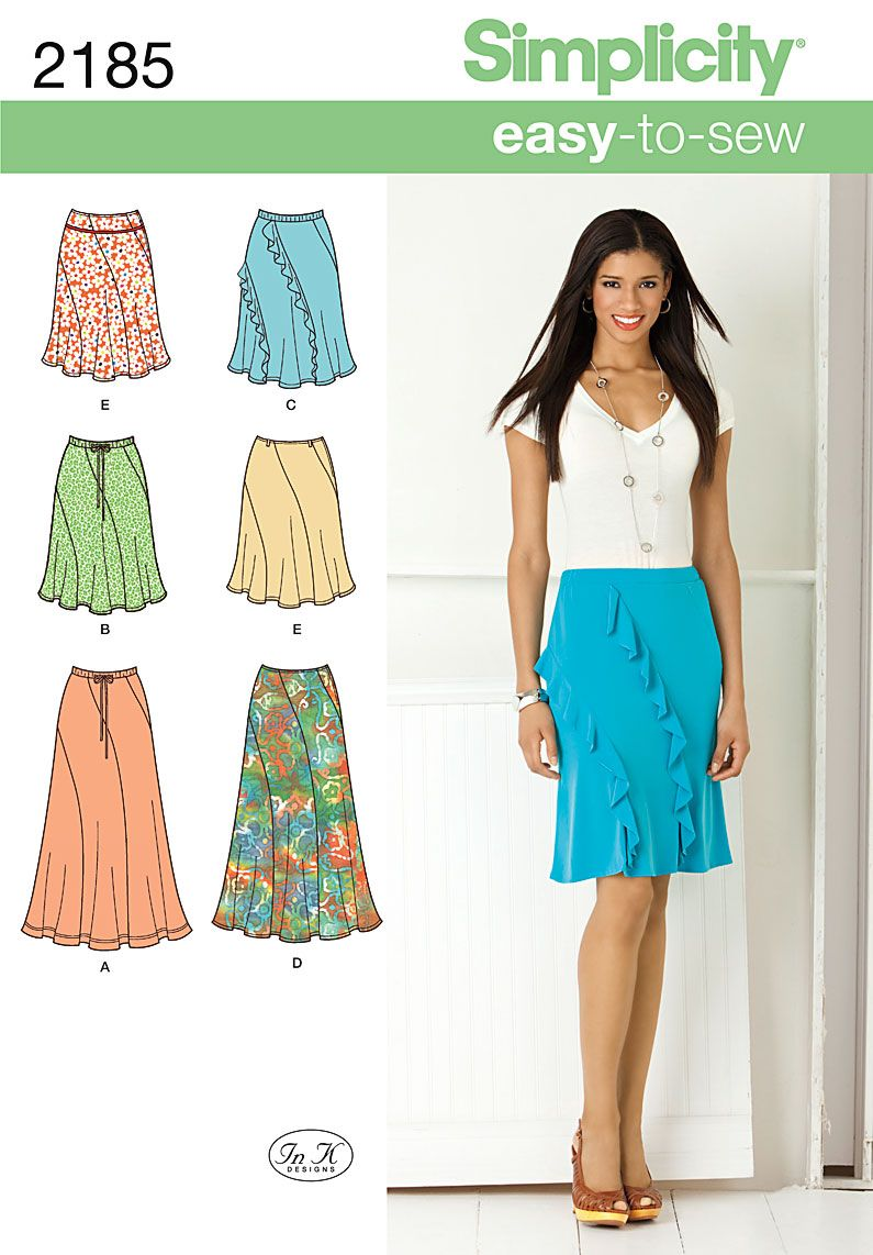 Simplicity 2185 from Simplicity patterns is a Misses' Easy to Sew