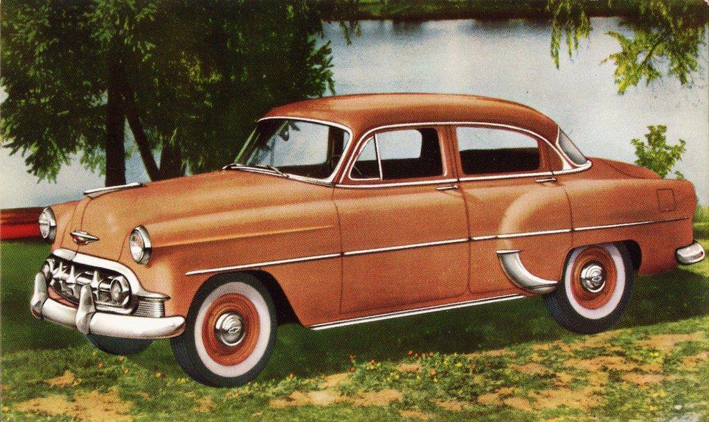1953 Chevrolet Two Ten 4 Door Sedan Canada Chevrolet Classic